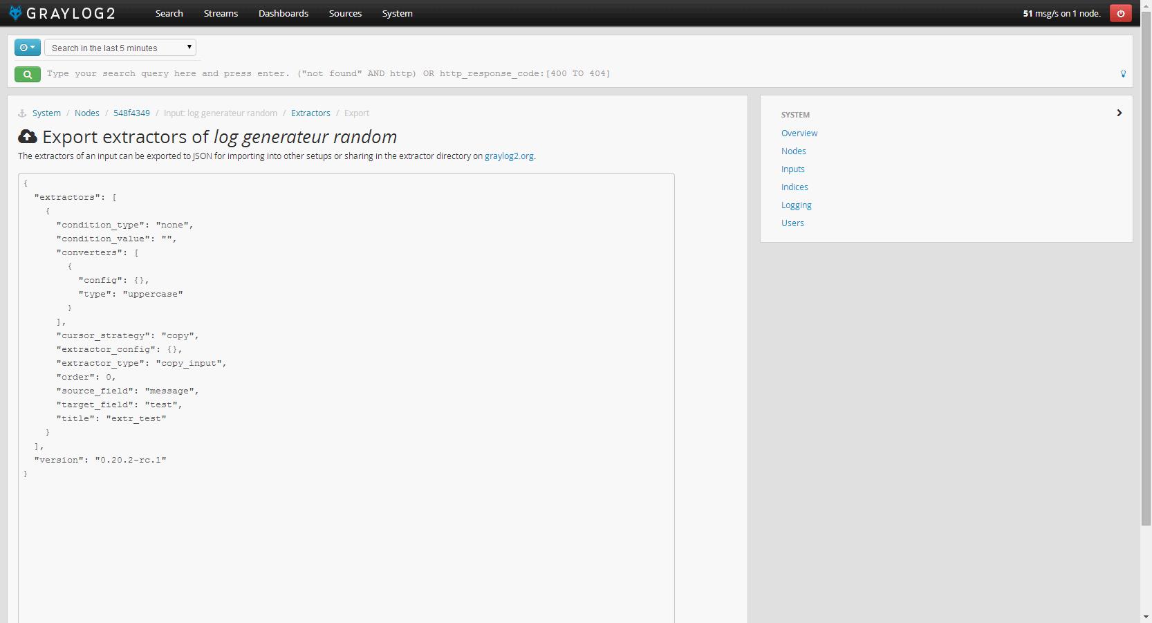 graylog2_export_extractor
